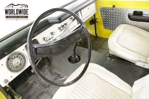 1975 Ford BRONCO  4x4 CONVERTIBLE FACTORY HARDTOP NEW PAINT | Denver, CO | Worldwide Vintage Autos in Denver, CO