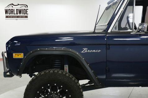 1975 Ford BRONCO RESTORED FUEL INJECTED 302 V8 PS PB AUTO | Denver, CO | Worldwide Vintage Autos in Denver, CO
