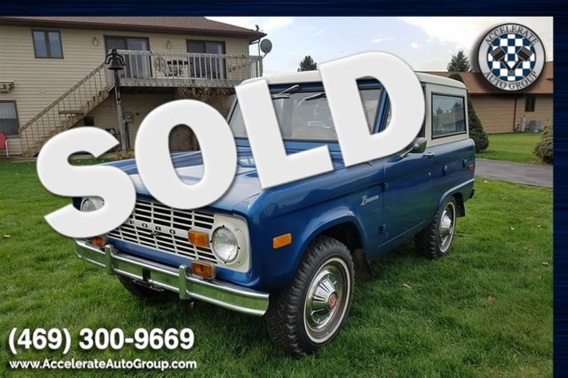 1975 Ford Bronco SURVIVOR ONLY 18,977 MILES!!! in Rowlett Texas