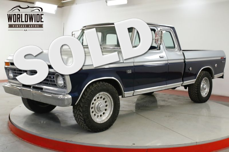1975 Ford F250 PS PB 390 V8 AIR CONDITIONING | Denver, CO | Worldwide Vintage Autos