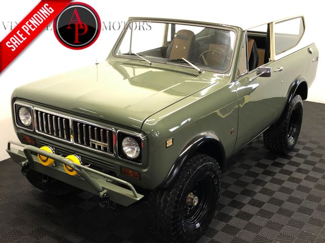 1975 International SCOUT V8 PS PB 4X4