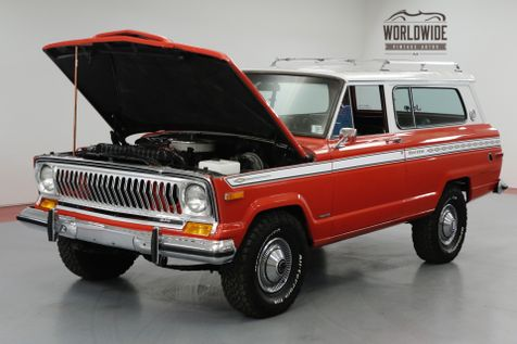 1975 Jeep CHEROKEE ONE OF A KIND. RARE! | Denver, CO | Worldwide Vintage Autos in Denver, CO