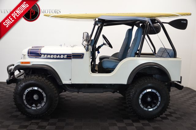 1975 Jeep CJ5 FRAME OFF RESTO V8 BEACH TRUCK