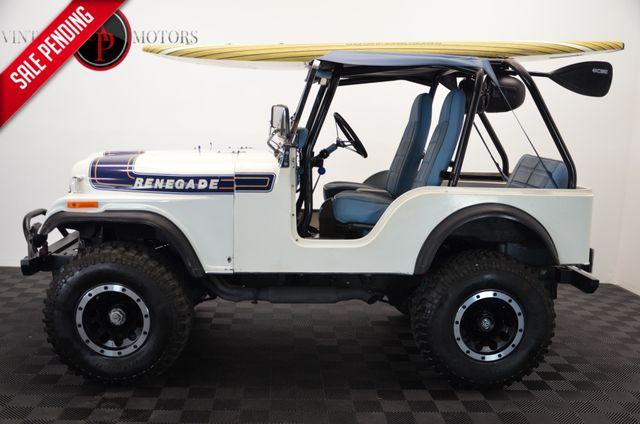 1975 Jeep CJ5 FRAME OFF RESTO V8 BEACH TRUCK