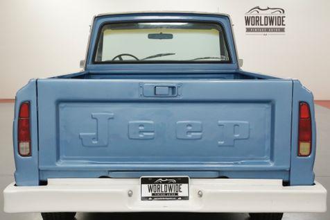 1975 Jeep J10 GLADIATOR TRUCK. V8! 4x4! PS. PB. COLLECTOR  | Denver, CO | Worldwide Vintage Autos in Denver, CO