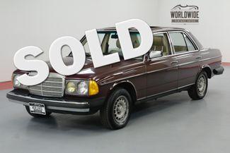 1985 Mercedes-Benz 300D TURBOCHARGED INLINE 5 CYL AUTOMATIC | Denver, CO | Worldwide Vintage Autos in Denver CO