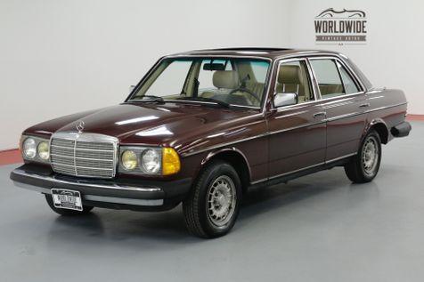 1985 Mercedes-Benz 300D TURBOCHARGED INLINE 5 CYL AUTOMATIC | Denver, CO | Worldwide Vintage Autos in Denver, CO