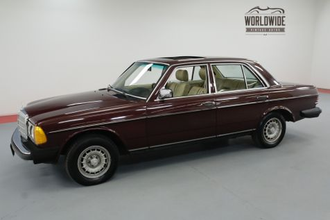 1985 Mercedes-Benz 300D TURBOCHARGED INLINE 5 CYL AUTOMATIC | Denver, CO | Worldwide Vintage Autos in Denver, CO