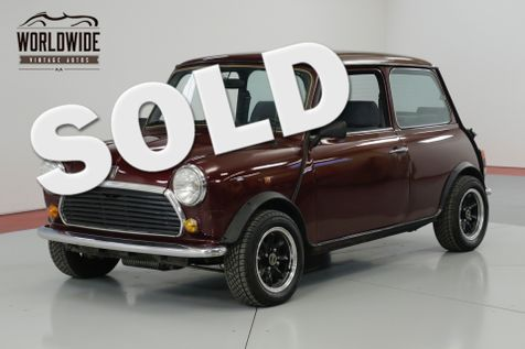 1975 Mini COOPER MAYFAIR EDITION! MANUAL GEARBOX SU CARBS.  | Denver, CO | Worldwide Vintage Autos in Denver, CO