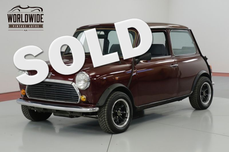 1975 Mini Cooper Mayfair Edition Manual Gearbox Su Carbs Denver Co Worldwide Vintage Autos