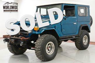 1975 Toyota LAND CRUISER  FJ40 V8! 4X4 PS PB WINCH LIFTED HARDTOP | Denver, CO | Worldwide Vintage Autos in Denver CO