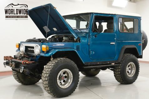 1975 Toyota LAND CRUISER  FJ40 V8! 4X4 PS PB WINCH LIFTED HARDTOP | Denver, CO | Worldwide Vintage Autos in Denver, CO