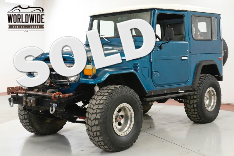 1975 Toyota LAND CRUISER  FJ40 V8! 4X4 PS PB WINCH LIFTED HARDTOP | Denver, CO | Worldwide Vintage Autos