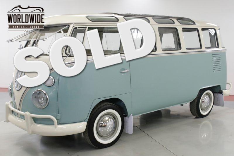 1975 Volkswagen BUS  VW 23 WINDOW MICROBUS RESTORED CUSTOM SAFARI  | Denver, CO | Worldwide Vintage Autos