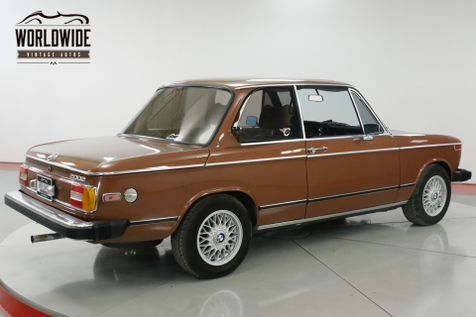 1976 BMW 2002 EXCELLENT CONDITION FACTORY AC & SUNROOF | Denver, CO | Worldwide Vintage Autos in Denver, CO
