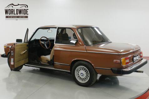 1976 BMW 2002 EXCELLENT CONDITION FACTORY AC & SUNROOF   Denver, CO   Worldwide Vintage Autos in Denver, CO