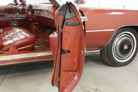 1976 Cadillac ELDORADO  CONVERTIBLE AC 85K ORIGINAL MILES COLLECTOR | Denver, CO | Worldwide Vintage Autos in Denver, CO