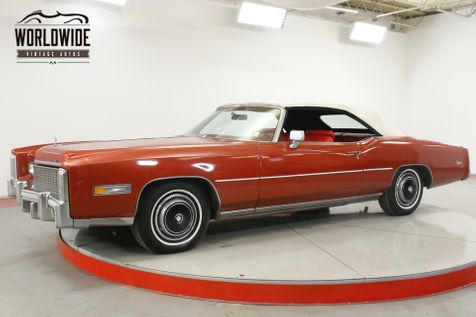 1976 Cadillac EL DORADO COLLECTOR 500 V8 NEW INTERIOR GARAGE KEPT | Denver, CO | Worldwide Vintage Autos in Denver, CO