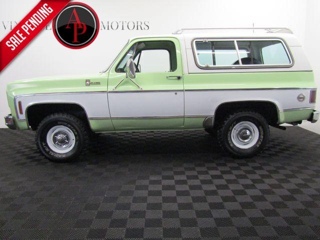 1976 Chevrolet BLAZER K5 CHEYENNE ONE OWNER
