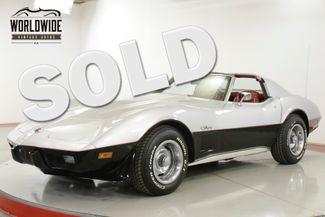 1976 Chevrolet CORVETTE  LOW ORIGINAL MILEAGE, V8  | Denver, CO | Worldwide Vintage Autos in Denver CO