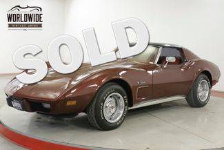 1976 Chevrolet CORVETTE STINGRAY L-48 V8 AUTO DUAL EXHAUST  | Denver, CO | Worldwide Vintage Autos in Denver CO