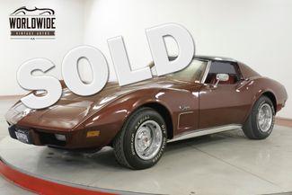 1976 Chevrolet CORVETTE STINGRAY L-48 V8 AUTO DUAL EXHAUST  | Denver, CO | Worldwide Vintage Autos in Denver CO