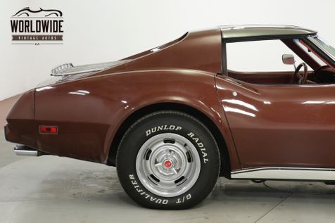 1976 Chevrolet CORVETTE STINGRAY L-48 V8 AUTO DUAL EXHAUST  | Denver, CO | Worldwide Vintage Autos in Denver, CO