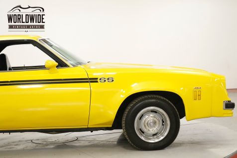 1976 Chevrolet EL CAMINO SS BIG BLOCK 454 4SPD SWIVEL SEAT AC PS PB | Denver, CO | Worldwide Vintage Autos in Denver, CO