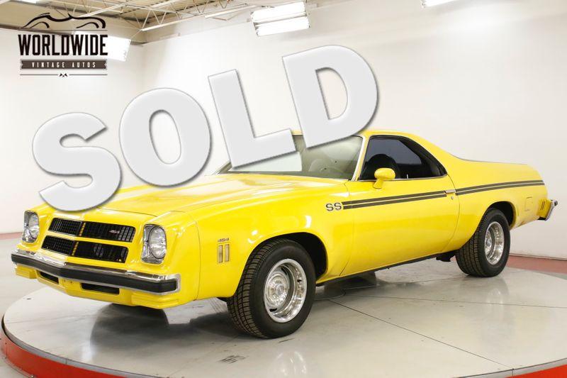 1976 Chevrolet EL CAMINO SS BIG BLOCK 454 4SPD SWIVEL SEAT AC PS PB | Denver, CO | Worldwide Vintage Autos