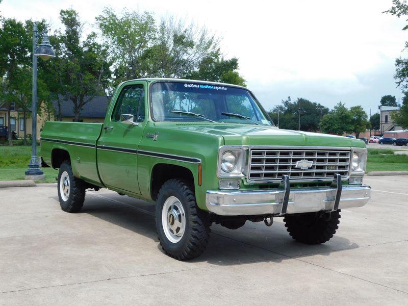 1976 Chevrolet K20 Pickup Scottsdale  city TX  Dallas Motorsports  in Wylie, TX