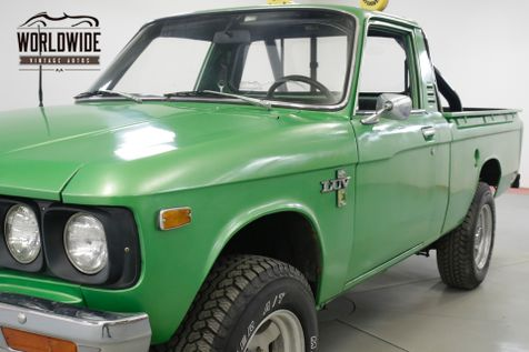1976 Chevrolet LUV  MIKADO RESTORED 4x4 SHORT BED COLLECTOR  | Denver, CO | Worldwide Vintage Autos in Denver, CO