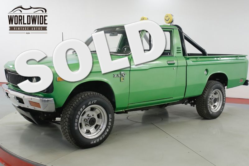 1976 Chevrolet LUV  MIKADO RESTORED 4x4 SHORT BED COLLECTOR  | Denver, CO | Worldwide Vintage Autos