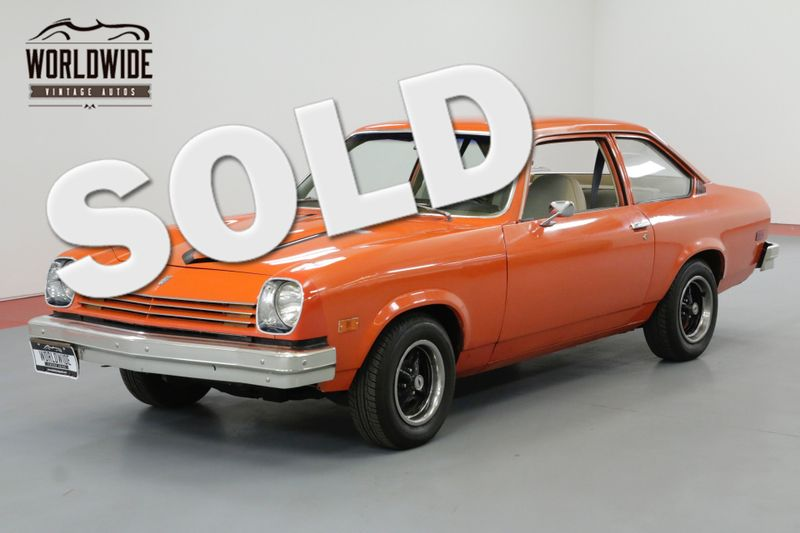 1976 Chevrolet VEGA RESTORED 2 DOOR COLLECTOR GRADE MUST SEE! | Denver, CO | Worldwide Vintage Autos