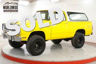 1976 Dodge RAMCHARGER SE 4X4 PS PB REMOVABLE TOP 440 V8 EFI  | Denver, CO | Worldwide Vintage Autos in Denver CO