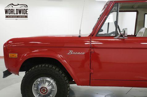 1976 Ford BRONCO RARE UNCUT V8 PS PB   Denver, CO   Worldwide Vintage Autos in Denver, CO