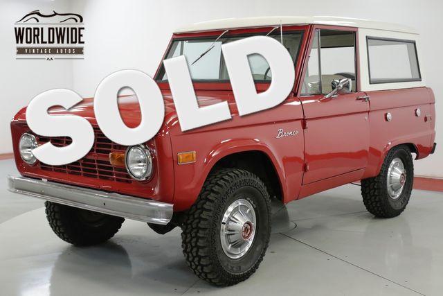 1976 Ford BRONCO RARE UNCUT V8 PS PB | Denver, CO | Worldwide Vintage Autos in Denver CO