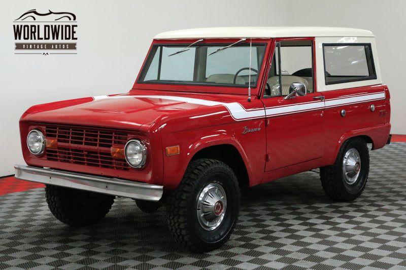 1976 Ford BRONCO RESTORED RARE UNCUT V8 EXPLORER PS | Denver, CO | Worldwide Vintage Autos