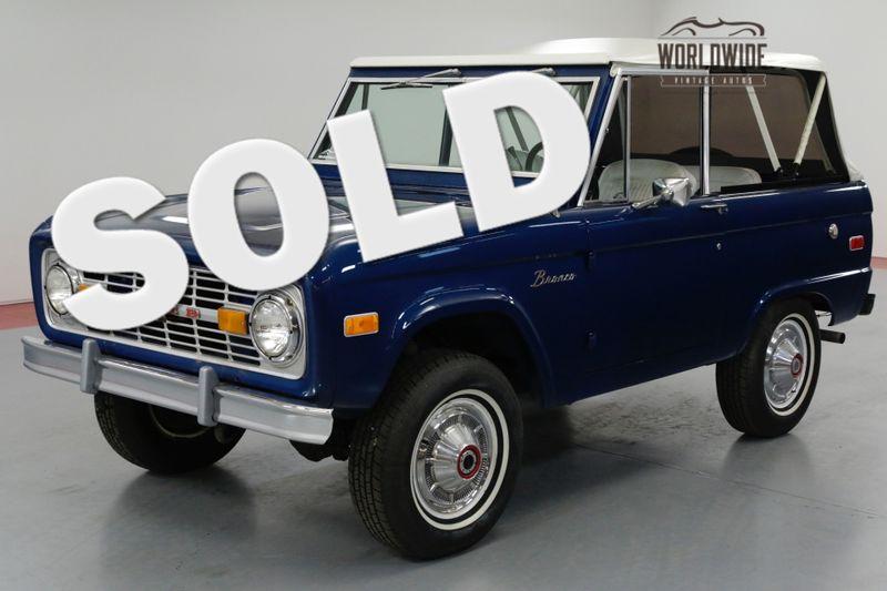 1976 Ford BRONCO UNCUT 4x4 AUTO 302 V8. PS. POWER DISC BRAKES | Denver, CO | Worldwide Vintage Autos