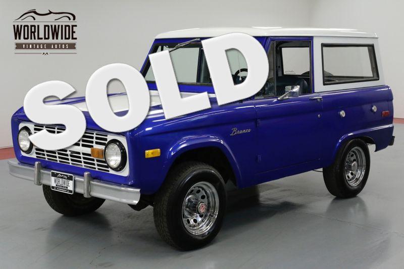 1976 Ford BRONCO  RESTORED. RARE. RANGER. UNCUT. 302 V8. PS. PB | Denver, CO | Worldwide Vintage Autos