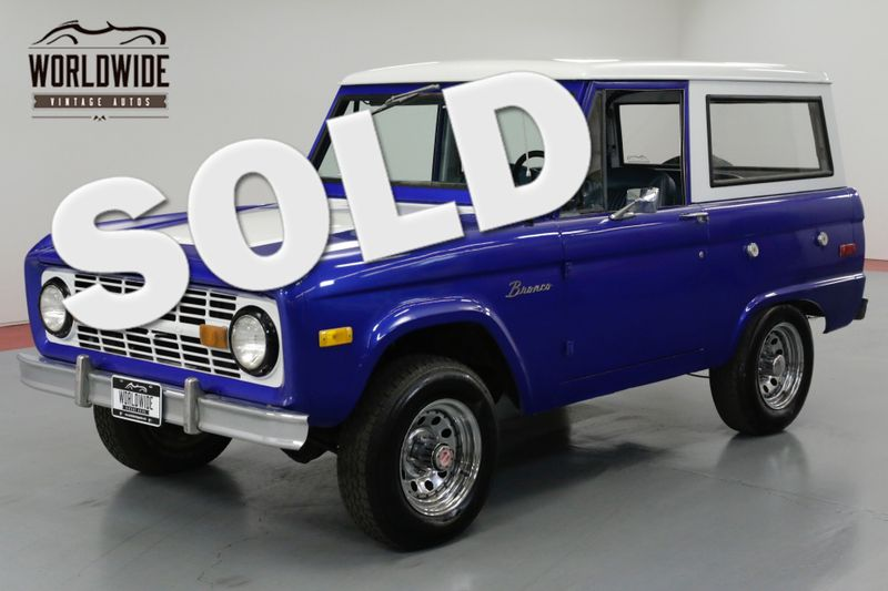 1976 Ford BRONCO  RESTORED. RARE. RANGER. UNCUT. 302 V8. PS. PB | Denver, CO | Worldwide Vintage Autos