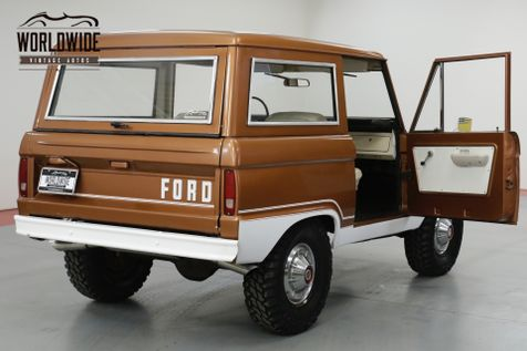 1976 Ford BRONCO UNCUT! STOCK. GORGEOUS PS PB 4x4 CONVERTIBLE | Denver, CO | Worldwide Vintage Autos in Denver, CO