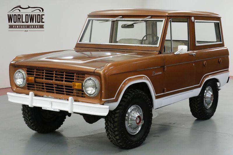 1976 Ford BRONCO UNCUT! STOCK. GORGEOUS PS PB 4x4 CONVERTIBLE | Denver, CO | Worldwide Vintage Autos