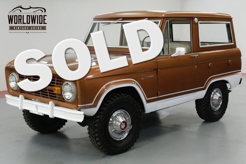 1976 Ford BRONCO UNCUT! STOCK. PS! PB! 4x4! CONVERTIBLE! | Denver, CO | Worldwide Vintage Autos