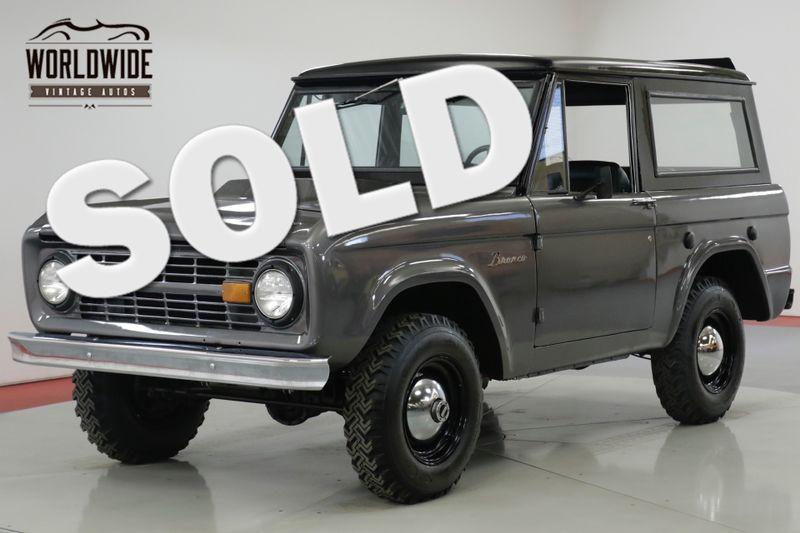 1976 Ford BRONCO RESTORED FRAME UP. 351 V8. 4X4 REMOVABLE TOP.  | Denver, CO | Worldwide Vintage Autos