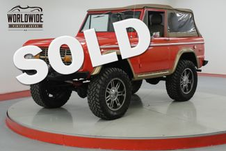 1976 Ford BRONCO 4x4 RESTORED CUSTOM V8 LIFT PS PB AUTO  | Denver, CO | Worldwide Vintage Autos in Denver CO