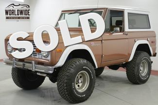 1976 Ford BRONCO SPORT 4x4 FUEL INJECTION 5.0L HO PS PB AC | Denver, CO | Worldwide Vintage Autos in Denver CO