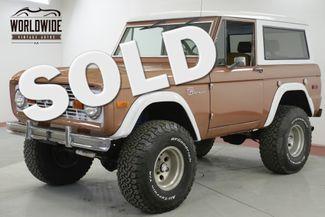 1976 Ford BRONCO SPORT 4x4 FUEL INJECTION 5.0L HO PS PB AC | Denver, CO | Worldwide Vintage Autos in Denver CO
