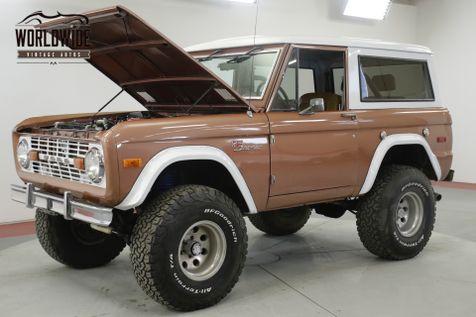 1976 Ford BRONCO SPORT 4x4 FUEL INJECTION 5.0L HO PS PB AC | Denver, CO | Worldwide Vintage Autos in Denver, CO