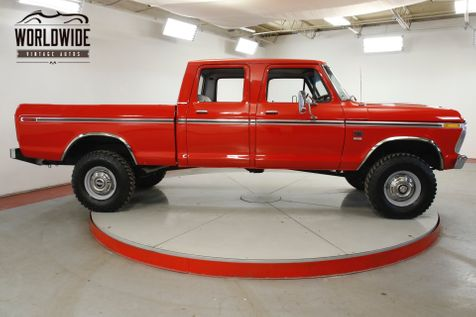 1976 Ford F-250 390 V8 AUTO RESTORED 4X4 PS PB A/C VERY RARE  | Denver, CO | Worldwide Vintage Autos in Denver, CO