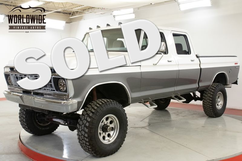 1976 Ford F250 RANGER CREW CAB VERY RARE V8 4-SPEED PS PB  | Denver, CO | Worldwide Vintage Autos